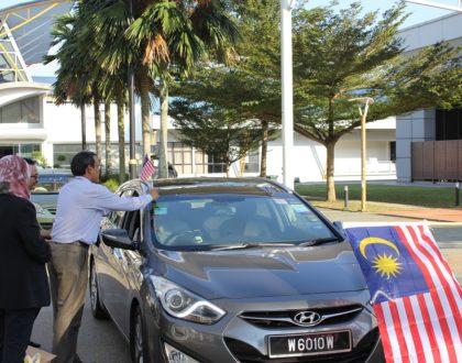 Merdeka Flag-Off at Perdana University