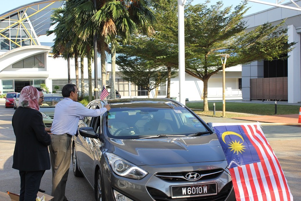 Merdeka Flag-Off at Perdana University