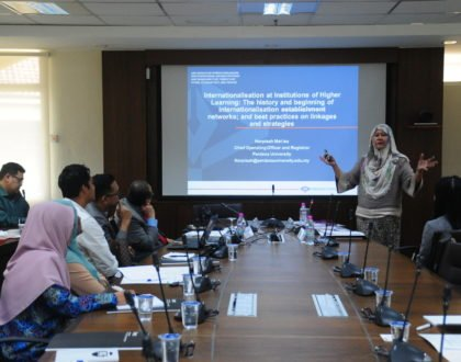 Seminar on the Internationalisation of Higher Learning