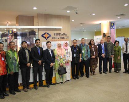 UMMC Visits Perdana University