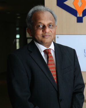 Occupational Dean of PUScOT, Prof. Nathan Vytialingam