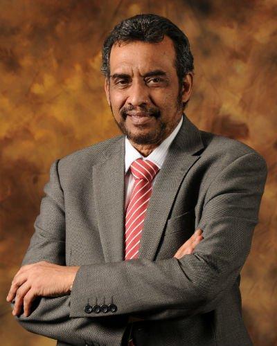Photograph of Pro-Chancellor Dr Mohan Swami