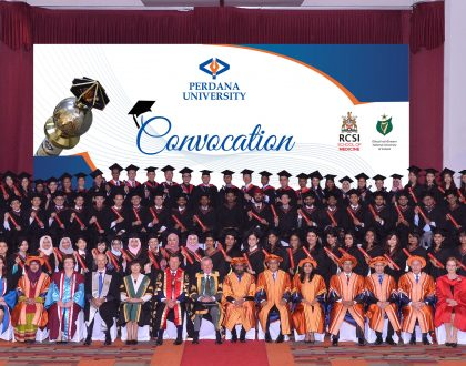 Perdana University Convocation 2017