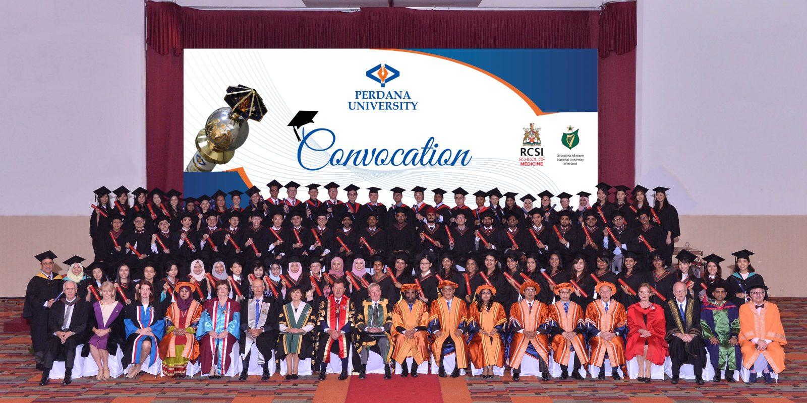 Perdana University Convocation 2017