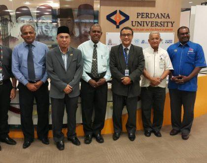 More collaborations at Perdana University