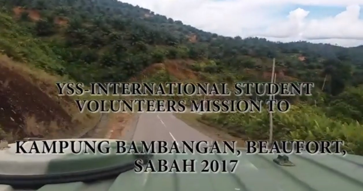 Perdana University student participation in a community project