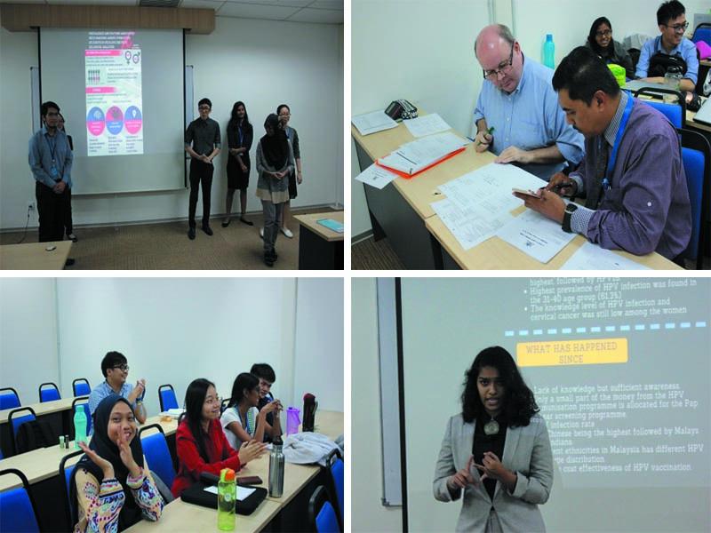 PHE 3 Minute Presentation Production Team