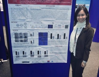 "Physiological Society's ""Future Physiology"" Conference – Ong Su Chyi awarded the Rob Clarke Silver Award at the ""Future Physiology"" Conference for Early Career Researchers held at the University of Leeds, UK"