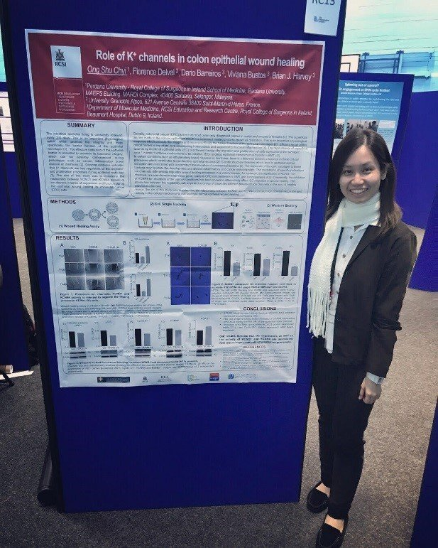 """Physiological Society's """"Future Physiology"""" Conference – Ong Su Chyi awarded the Rob Clarke Silver Award at the """"Future Physiology"""" Conference for Early Career Researchers held at the University of Leeds, UK"""