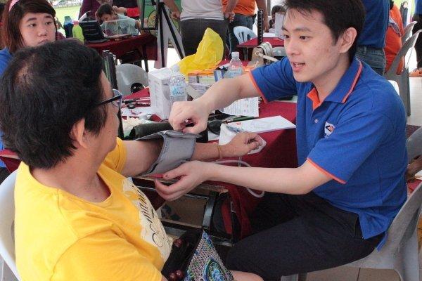 Kem Penyaringan Kesihatan dan Kanser 2018 at Bentong