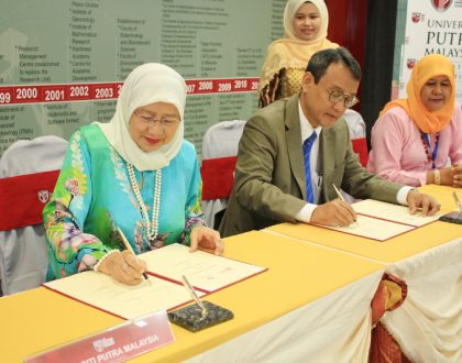 Memorandum of Understanding (MoU) between Universiti Putra Malaysia and Perdana University