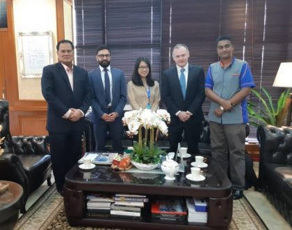 Meet Up with the Head of National Professors' Council, Malaysia