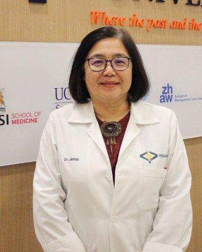 medicine Dean of PUGSOM, Dr. Juriah Abdullah