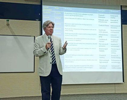 Public Talk by Professor Adrian Furnham