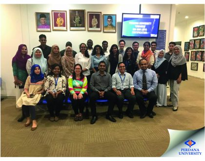 Writing and Publishing Scientific Research Papers Workshop held in Perdana University
