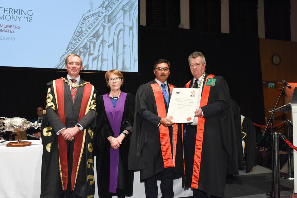 Prof Rusli awarded Fellowship in Sports & Exercise Medicine