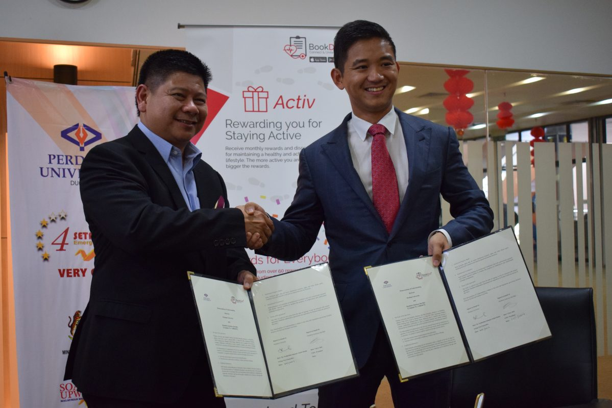 Perdana University Signs MoU with BookDoc