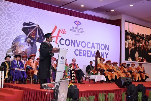 Perdana University 4th Convocation Valedictory Speech