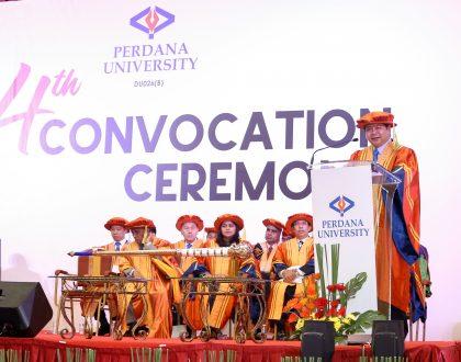Perdana University 4th Convocation - Speech by The Vice Chancellor