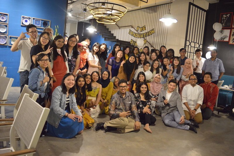 A Lovely Evening - Perdana University School of Occupational Therapy Pre-Graduation Dinner