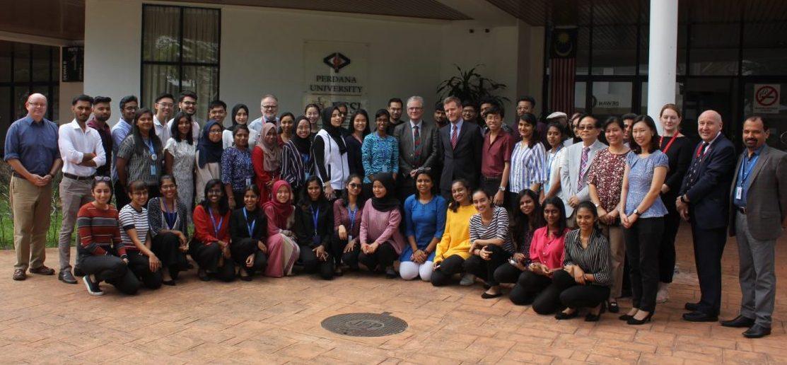 Visit to Perdana University from RCSI