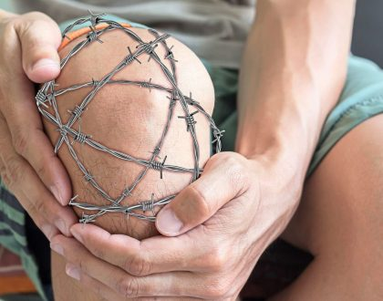 When a mosquito bite causes persistent joint pain