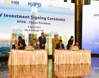 APHB, Chase Perdana labur RM4.3 bilion bangunkan projek hartanah